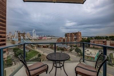 Kenton County Condo/Townhouse For Sale: 1 Roebling Way #603