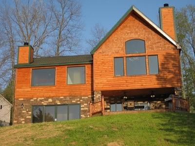 Owen County Single Family Home For Sale: 445 Elk Lake Resort #LOT 610