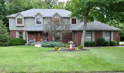 Edgewood Single Family Home For Sale: 754 Hurstborne Lane