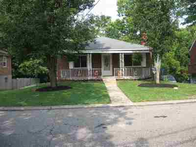 Fort Thomas Single Family Home For Sale: 212 Sergeant Avenue