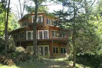 Owen County Single Family Home For Sale: 445 Elk Lake Resort Lot 1420