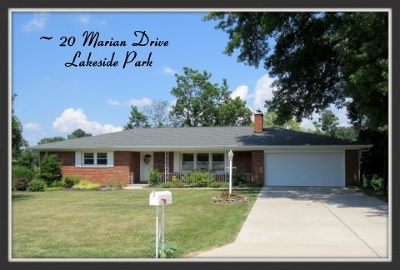Lakeside Park Single Family Home For Sale: 20 Marian Drive