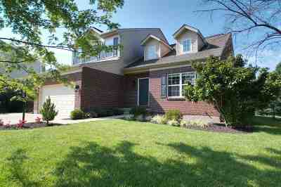 Burlington Single Family Home For Sale: 2927 Spring Cove Way
