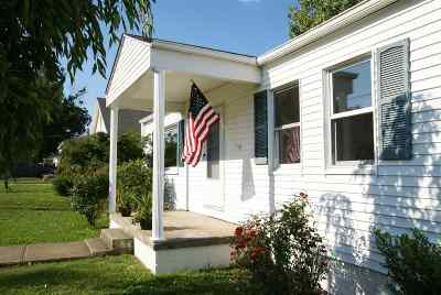 Dry Ridge Single Family Home For Sale: 43 Race