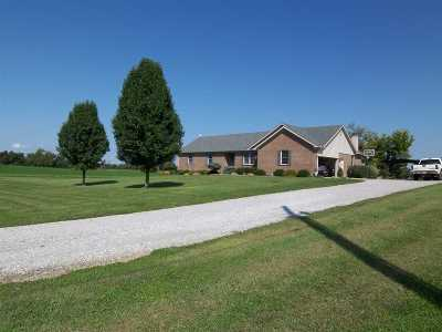 Owen County Single Family Home For Sale: 750 Jonesville Road