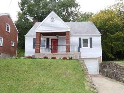 Covington, Erlanger Single Family Home For Sale: 1519 Monroe Street