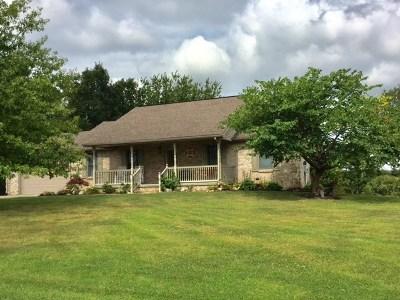 Owen County Single Family Home For Sale: 2310 Slippery Rock