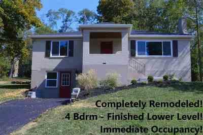 Erlanger Single Family Home For Sale: 412 Stevenson Road