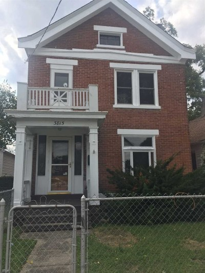 Kenton County Single Family Home For Sale: 3815 Park Avenue