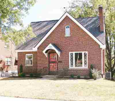 Fort Mitchell, Fort Wright Single Family Home For Sale: 1617 E Crittenden