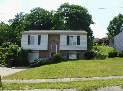 Covington, Erlanger Single Family Home For Sale: 157 Meadow Hill Drive