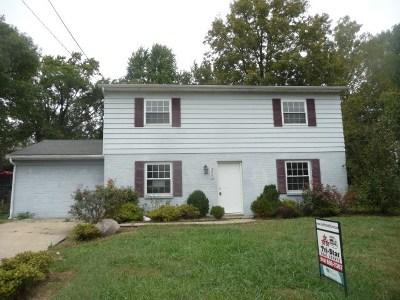 Erlanger Single Family Home For Sale: 3408 Apple Tree Lane
