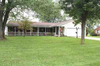 Boone County Single Family Home For Sale: 15969 Lebanon Crittenden Rd