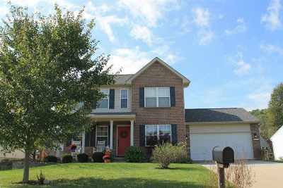 Burlington Single Family Home For Sale: 3071 Cattail Cove
