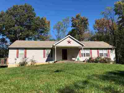 Owen County Single Family Home For Sale: 1238 Paynes Run Road