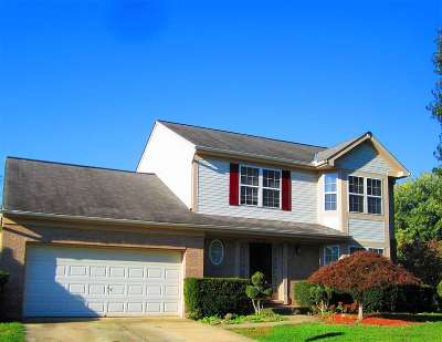 Burlington Single Family Home New: 7432 Indian Ridge Way
