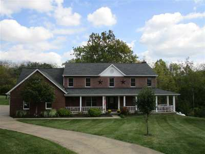 Florence Single Family Home New: 760 Brittany Trail