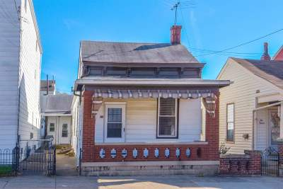 Newport Single Family Home For Sale: 218 E 10th Street