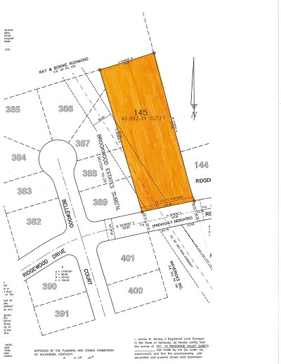 Campbell County Residential Lots & Land For Sale: 133 Ridgewood Drive