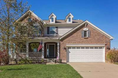 Burlington Single Family Home For Sale: 3322 Falling Brook Way