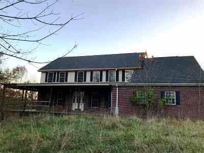 Boone County, Campbell County, Kenton County Single Family Home For Sale: 3275 Ashby Fork Rd.
