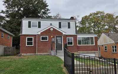 Erlanger Single Family Home For Sale: 27 Price Avenue