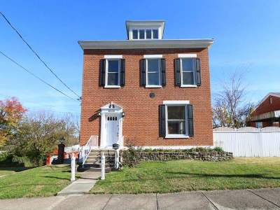 Covington Single Family Home For Sale: 1606 Monroe Street