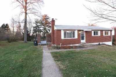 Alexandria Single Family Home For Sale: 1038 Poplar Ridge