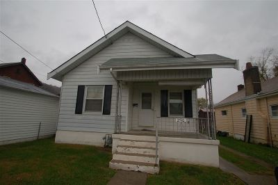Covington KY Single Family Home Sold: $49,900
