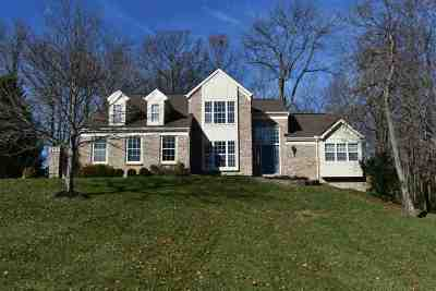 Hebron Single Family Home For Sale: 2130 Treetop Lane