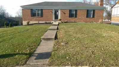 Florence Single Family Home For Sale: 6091 Cedar Hill