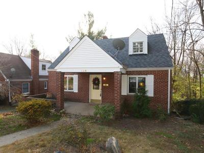 Fort Mitchell, Fort Wright Single Family Home For Sale: 115 Barrington Road