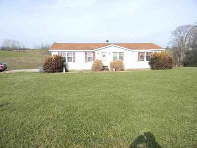 Grant County Single Family Home For Sale: 5805 Napoleon Zion Station