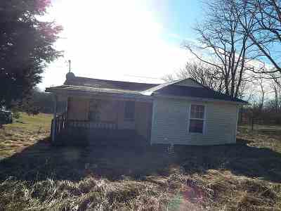 Owen County Single Family Home For Sale: 345 Cull Road