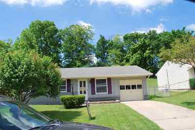Florence, Erlanger Single Family Home For Sale: 168 Belair Circle