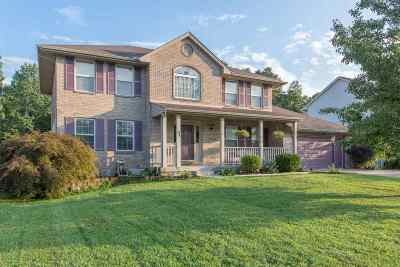 Single Family Home For Sale: 621 Brandtly Ridge Drive