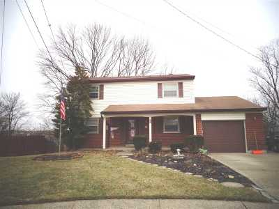 Boone County, Campbell County, Kenton County Single Family Home For Sale: 12 Lexington Drive