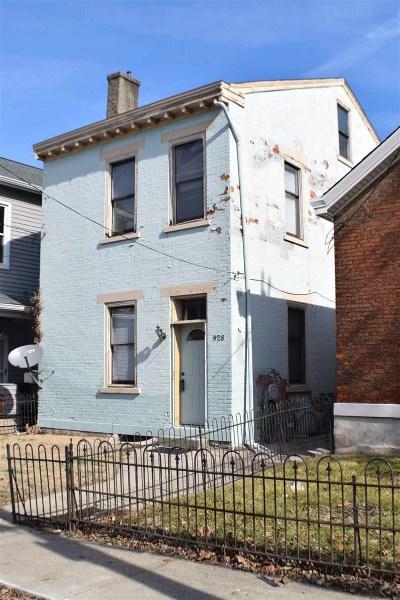 Covington, Erlanger Single Family Home For Sale: 928 Philadelphia Street