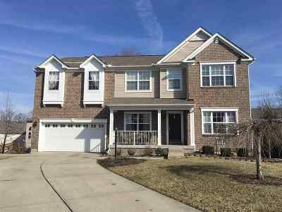 Burlington Single Family Home For Sale: 2890 Landings Way