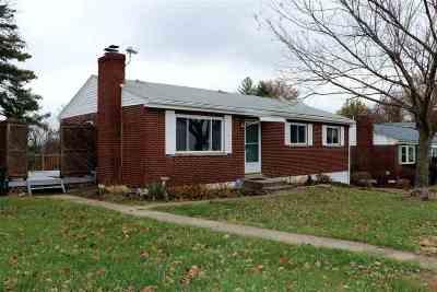 Alexandria Single Family Home For Sale: 1038 Poplar Ridge Road