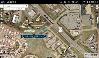 Alexandria Residential Lots & Land For Sale: 2.18 Acres Us 27 & Cedar Lane