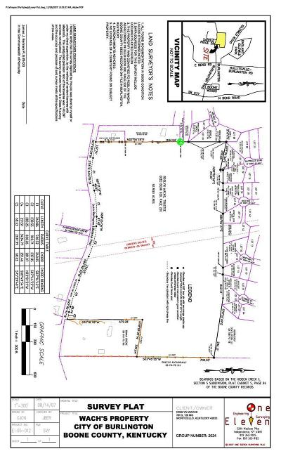 Burlington Residential Lots & Land For Sale: Ky 18 Burlington Pike