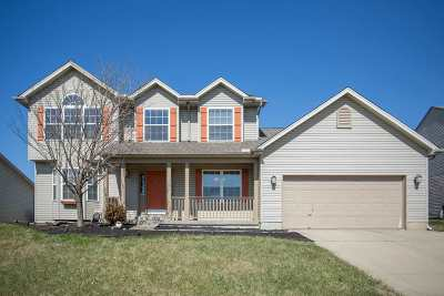 Burlington Single Family Home New: 2030 Bluestem Drive