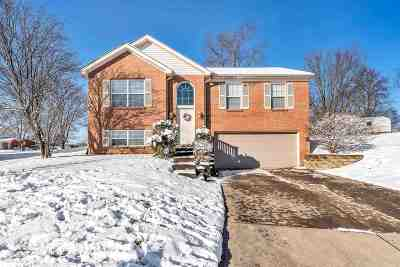 Burlington Single Family Home New: 5878 Noel Creek Lane