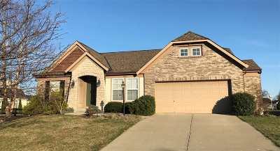 Erlanger Single Family Home For Sale: 3869 Deertrail Drive