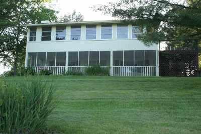 Owen County Single Family Home For Sale: 445 Elk Lake Resort Lot 15 Road