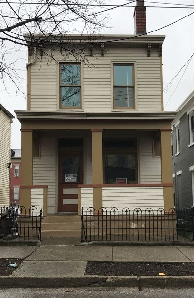 Covington Single Family Home For Sale: 409 W 9th Street