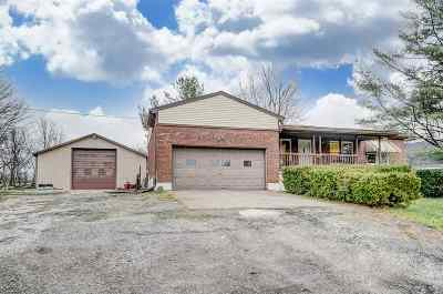 Boone County, Campbell County, Kenton County Single Family Home For Sale: 13494 Salem Creek Rd