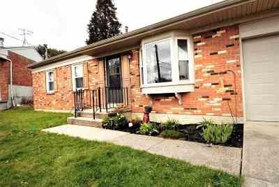 Erlanger Single Family Home For Sale: 3552 Jacqueline Drive