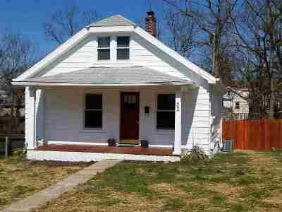 Elsmere Single Family Home For Sale: 624 Willow